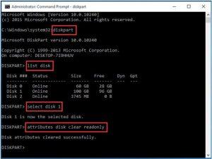 steam disk write error