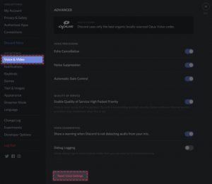 discord not detecting mic