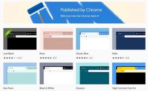best chrome themes