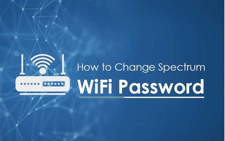 how to change spectrum wifi password