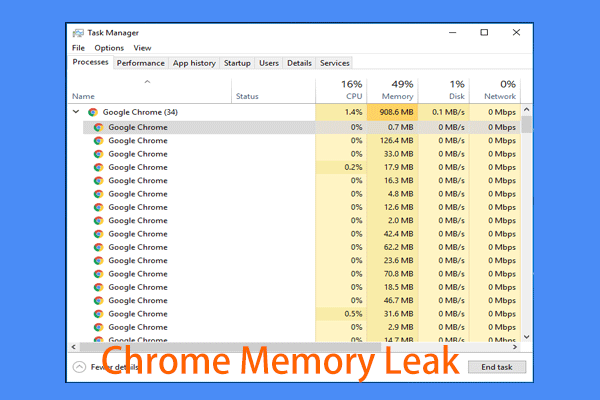 how to fix a memory leak