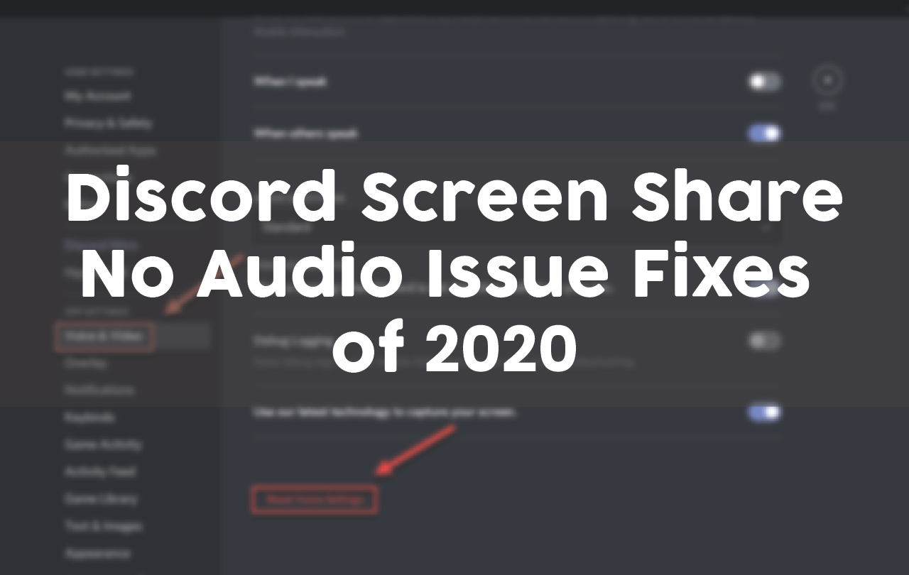 how to share audio on discord