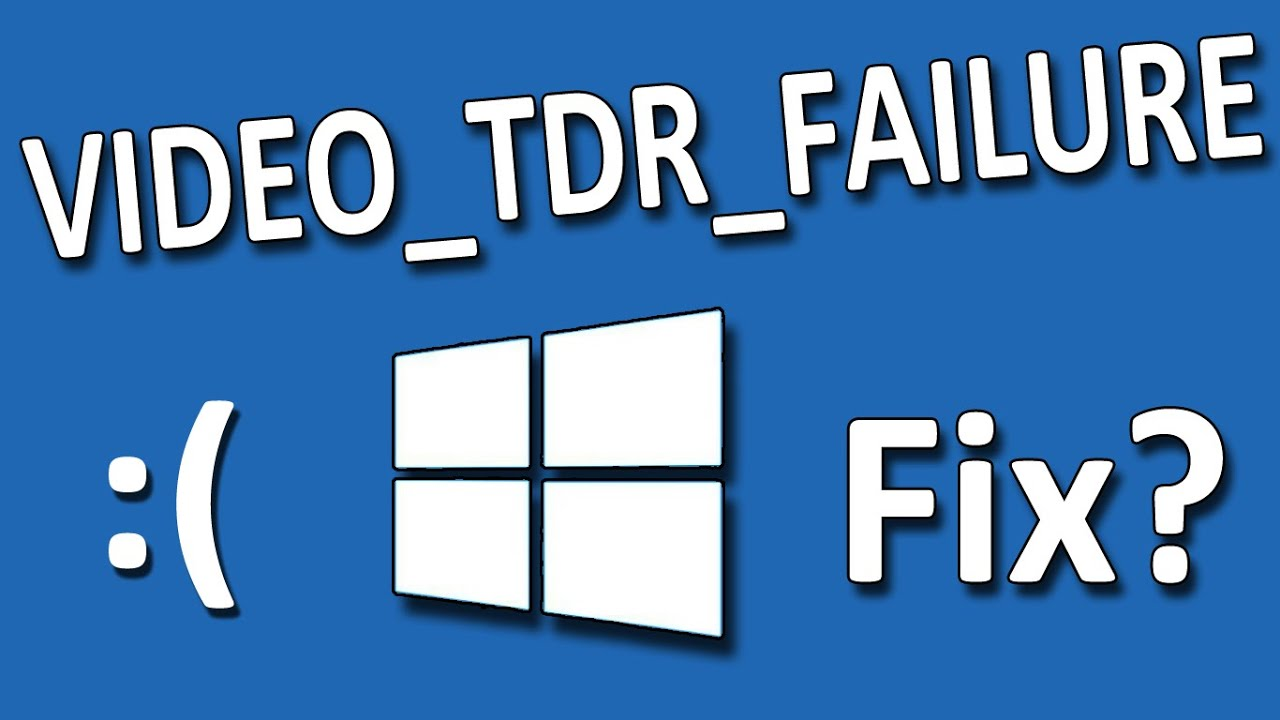 video tdr failure
