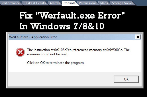 werfault.exe