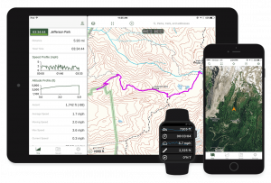 hiking apps for apple watch
