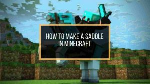 minecraft saddle