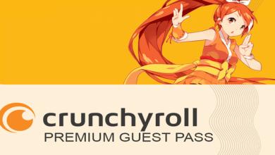 crunchyroll guest pass