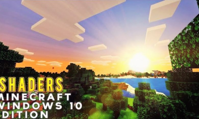 minecraft windows 10 shaders