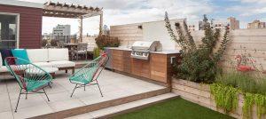 Rooftop Garden Kitchen