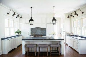 Farmhouse Kitchen With Soapstone Countertops