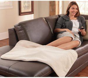 Serta Ultra Soft Plush Electrics Heated Warming Pad