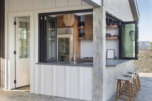 Light and Airy Outdoor Kitchen