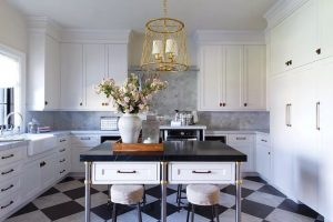 Kitchen Island With Soapstone Countertop