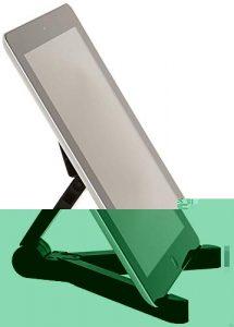 Best Budget: AmazonBasics Adjustable Tablet Stand