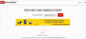 Fake Mail Generator.