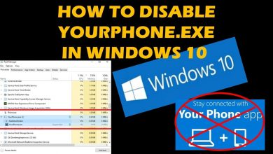 yourphone.exe windows 10