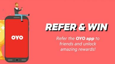 oyo room referral code