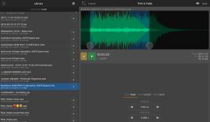 AudioShare iphone recording app