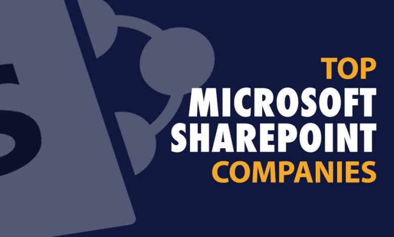 top sharepoint development companies
