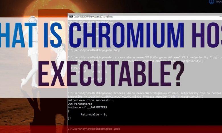 chromium host executable