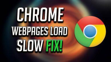 Google Chrome slow and freezing