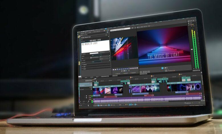 Online video editor