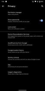 device personalization services