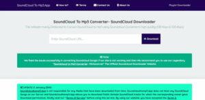 SoundCloud to MP3.App