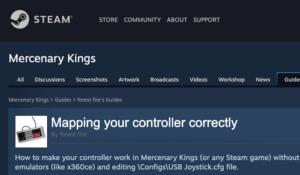Steam's Built In Mapper