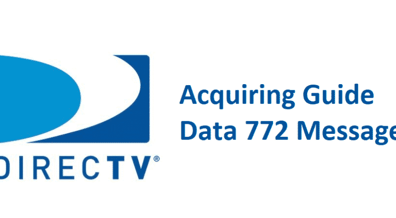 acquiring guide data 772 message