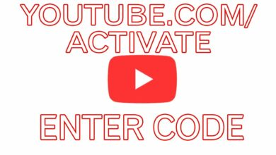 you tube.com/activate