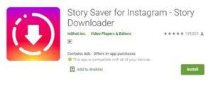 Story Saver for Instagram-- Story Downloader